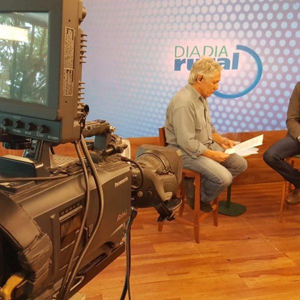 Entrevista para a TV Terra Viva abordando o controle de pragas